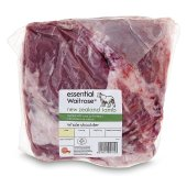 Picture of New Zealand Lamb Whole Shoulder essential Waitrose Typical weight: 1.37kg