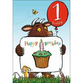 Picture of The Gruffalo 1st Birthday Card