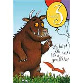 Picture of The Gruffalo 3rd Birthday Card