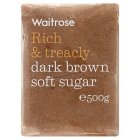 Picture of Dark Brown Soft Sugar Waitrose 500g