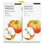 Picture of Pure Apple Juice essential Waitrose 4 x 1L