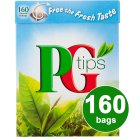 Picture of PG Tips Pyramid Tea Bags 160 per pack