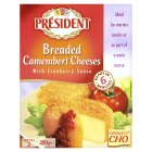 Picture of President Breaded Camembert Cheeses 2 x 100g