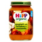 Picture of Hipp Organic Spaghetti with Tomato & Mozzarella 190g