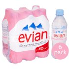 Picture of Evian Still Mineral Water 6 x 500ml