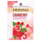 Picture of Twinings Fresh & Fruity Cranberry & Raspberry Tea Bags 20 per pack