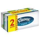 Picture of Kleenex Original White Tissues Twin Pack 2 x 72 per pack