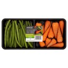 Picture of Baby Carrots & Green Beans Waitrose 200g
