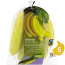 Picture of Fairtrade Organic Bananas Waitrose 6 per pack
