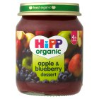 Picture of Hipp Organic Apple & Blueberry Dessert 125g