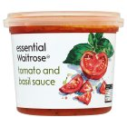 Picture of Fresh Tomato & Basil Sauce essential Waitrose 350g