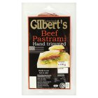 Picture of Gilberts Kosher Beef Pastrami 170g