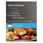 Picture of Breaded Cod Fingers Waitrose 400g