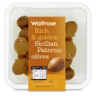 Picture of Sicilian Paterno Olives Waitrose 200g