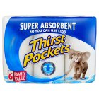 Picture of Thirst Pockets Kitchen Towels White 6 per pack