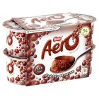 Picture of Nestle Aero Chocolate Mousse 4 x 59g