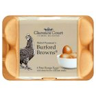 Picture of Clarence Court Burford Brown Free Range Eggs 6 per pack