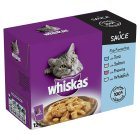 Picture of Whiskas Pouch Fish Favourites in Sauce 12 x 100g