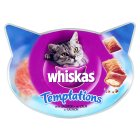 Picture of Whiskas Cat Treats Temptations Salmon 60g