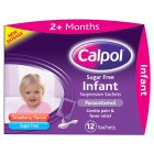 Picture of Calpol Infant Sugar Free Strawberry Sachets 12 per pack