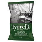 Picture of Tyrrell's Chips Cider Vinegar & Salt 150g