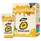 Picture of Innocent Kids Orange, Mango & Pineapple Smoothies 4 x 180ml