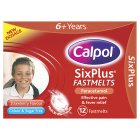 Picture of Calpol 6+ years Sugar Free Strawberry Fastmelts  12 per pack
