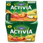 Picture of Danone Activia Strawberry, Kiwi, Mango & Apricot Yogurts 8 x 125g