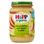 Picture of Hipp Organic Rice Pudding with Apple & Pear 190g