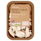 Picture of Flame Grilled Chicken Pieces Waitrose 130g
