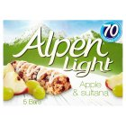 Picture of Alpen Light Apple & Sultana Bars 5 x 21g
