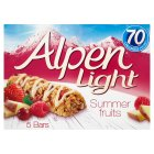 Picture of Alpen Light Summer Fruits Bars 5 x 19g