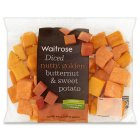 Picture of Ready Diced Butternut Squash & Sweet Potato Waitrose 350g