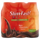 Picture of Slim-Fast Rich Chocolate Milkshakes 6 x 325ml