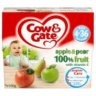 Picture of Cow & Gate Apple & Pear Pots 4 x 100g