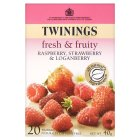 Picture of Twinings Raspberry & Strawberry Tea 20 per pack