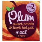Picture of Plum Baby Organic Stage 2 Sweet Potato & Lamb Hot Pot Meal 2 x 100g