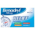 Picture of Benadryl Allergy Relief 12 per pack