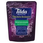 Picture of Tilda Steamed Basmati Brown 250g