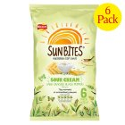 Picture of Walkers Sunbites Sour Cream & Black Pepper Snacks 6 x 25g