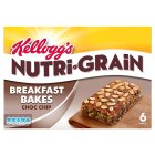 Picture of Kellogg's Nutri Grain Elevenses Chocolate Chip Bakes 6 x 45g