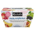 Picture of Rachel's Organic Taste Explorers Fruit Yogurts 4 x 100g