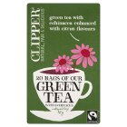 Picture of Clipper Green Tea with Echinacea 20 per pack