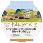 Picture of Tideford Organics Butterscotch Rice Pudding 125g
