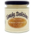 Picture of Simply Delicious Organic Horseradish Sauce 180ml