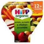 Picture of Hipp Organic Potato, Pumpkin & Chicken Scrumble 12+ Months 260g