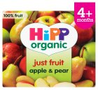 Picture of Hipp Organic Just Fruit Apple & Pear 4 x 100g