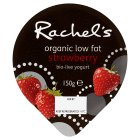 Picture of Rachel's Organic Low Fat Strawberry Yogurt 150g