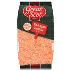 Picture of Great Scot Red Split Lentils 500g