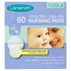Picture of Lansinoh Disposable Nursing Pads 60 per pack